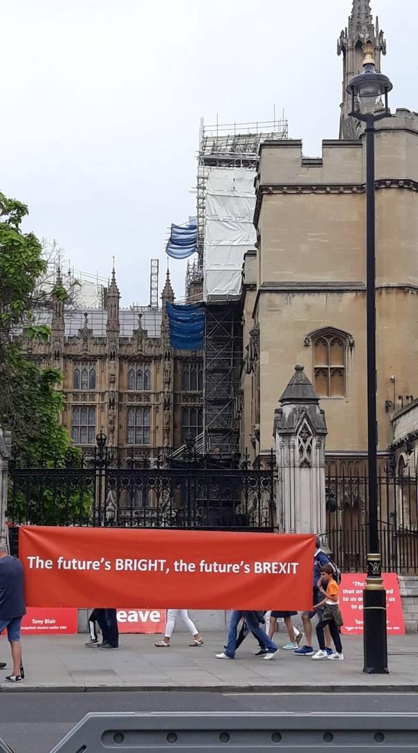 Brexiteri a Westminster 2019